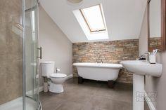 3A Craigstown Road, Moorfields #bathroom #brickwall