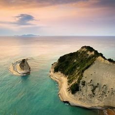 view from above-thematic park Corfu, All The Way Down, Cape, Beach, Outdoor, Beautiful, Sign, Google, Mantle