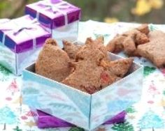 Biscuits aux farines de châtaigne et de sarrasin avec fruits confits