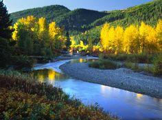 Wenatchee River, Central Cascades, Washington State