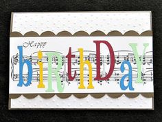 Hey, I found this really awesome Etsy listing at https://www.etsy.com/listing/513558446/music-note-birthday-card-for-the-music