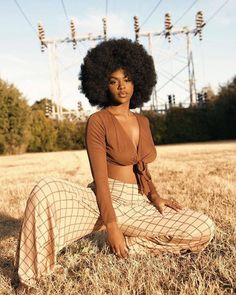 Black Girls R Magic — phoenixvalentine_ Dark Skin Beauty, Hair Beauty, Black Girl Magic, Black Girls, Black Girl Photo, Style Afro, Curly Hair Styles, Natural Hair Styles, Black Girl Aesthetic
