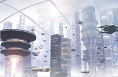 Future City Concept Art Collection | Social Media News and Web Tips – 24hblogdesign.com