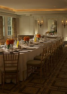 Interior Design by White Webb - Dining Room Design - Carlyle Hotel - Hotel Design - Hospitality Design