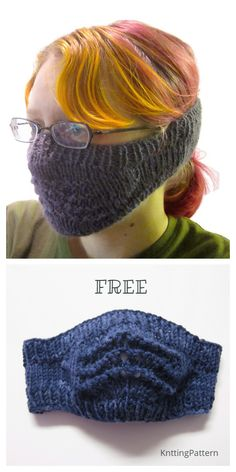 Knit Face Mask Free Knitting Pattern and Paid – Knitting Pattern Knit Face Mask Free Knitting Pattern and Paid – Knitting Pattern,MASKE YAPIMI Knit Face Mask Free Knitting Pattern and Paid – Knitting Pattern. Easy Knitting Projects, Easy Knitting Patterns, Loom Knitting, Free Knitting, Crochet Patterns, Blanket Patterns, Crochet Ideas, Crochet Mask, Crochet Faces