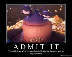 Tamatoa by glowworm56.deviantart.com on @DeviantArt 〖 Disney Moana Tamatoa funny 〗