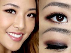 Eye Makeup - best eyeshadow technique for asian eyes? More - Ten Different Ways of Eye Makeup Asian Eyeshadow, Asian Eye Makeup, Best Eyeshadow, Eye Makeup Tips, Smokey Eye Makeup, Eyeshadow Makeup, Makeup Ideas, Asian Wedding Makeup, Wedding Hair And Makeup