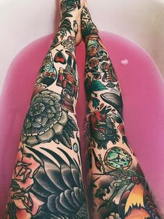 Amazing Leg Tattoo Ideas For Girls Trending 2017