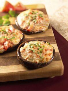 Cheese and Herb Stuffed Mushrooms Recipe