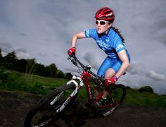 SPONSORED BY LOCH DUART - Kerry Macphee getting ready for British Cycling National Cross Country MTB Championships 2016.  Go Kerry!