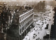 1916 Easter Rising: Photographs of aftermath published online.