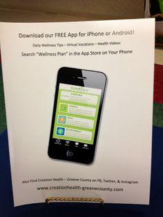 Creation Health - Greene County: Free Wellness Mobile App