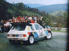 Peugeot 205 T16 - Michele Mouton