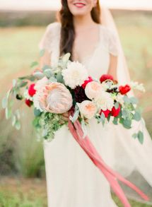 A wedding filled to the gills with blooms