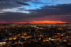 Hermosillo, Mexico at night