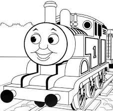 TONS of really nice Thomas the train coloring page printables