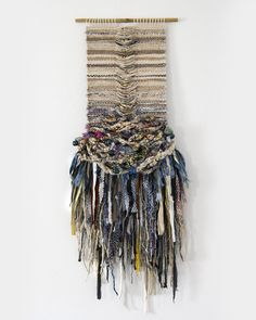 Crossing Threads is the collaborative work of Lauren and Kass Hernandez, Australian-born sisters of Filipino heritage based in Sydney. Weaving Textiles, Weaving Art, Loom Weaving, Tapestry Weaving, Hand Weaving, Textile Fiber Art, Fibre Art, Peg Loom, Weaving Projects