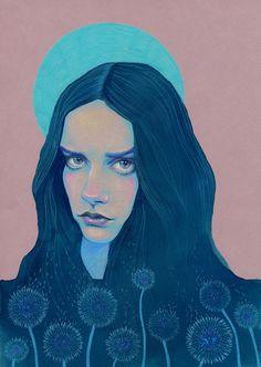 Dandelion by Natalie Foss