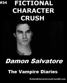 #34 - Damon Salvatore (Ian Somerhalder) from The Vampire Diaries