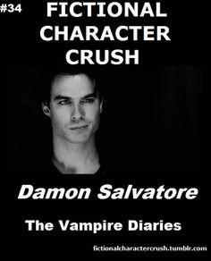 #34 - Damon Salvatore from The Vampire Diaries -- yep