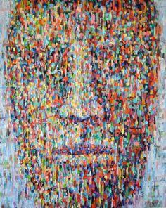 """Saatchi Art Artist Dejan Bozinovski; Painting, """"Anonymous 5"""" #art"""