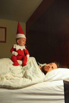 Our Real Life Elf On The Shelf   thatdadblog.com