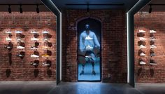 Adidas x CNCPT'S on Behance Architectural Technologist, Newbury Street, Retail Interior Design, Commercial Street, Old Commercials, Usa Store, Retail Space, Place Of Worship, Store Design