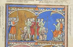 Picture Bible, MS M.638 fol. 37r - Images from Medieval and Renaissance Manuscripts - The Morgan Library & Museum