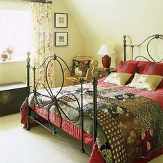 Camera Da Letto Country Style Bedrooms Mix Decoration