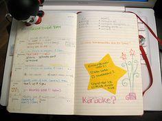 moleskine planner: week
