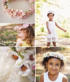 Xanthe Photography { for life }: Flowers in their hair- Floral Crowns- Brisbane Commercial Photography