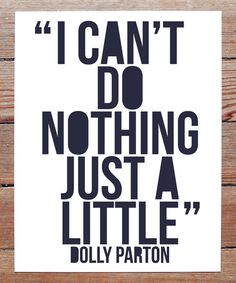 Another great find on #zulily! 'Can't Do Nothing' Dolly Parton Print by Live Love Studio #zulilyfinds