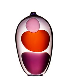 Versicolor - Hortus Poetica 2014. Swedish Glass designer Gunnel Sahlin.