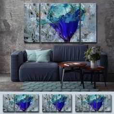 Shop for Ready2HangArt 'Painted Petals LX' Canvas Set. Get free delivery at Overstock.com - Your Online Art Gallery Store! Get 5% in rewards with Club O!