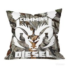 Cummins Diesel Camo Pillow Cases