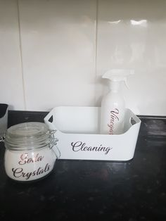 A stylish way to get your cleaning cupboard organised and with the carry handles it is easy enough to carry around. Cleaning Cupboard, Cleaning Caddy, Bath Caddy, Style, Swag, Outfits