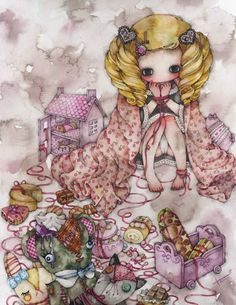 Tama - Tied Up Lolita Girl