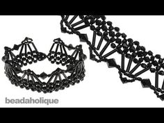 ▶ How to Bead Weave the Isabella Collar Necklace - YouTube