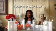 DIY - DOLLAR TREE BLING FLING  4 EASY AND QUICK DIYS FEATURING TOTAL...