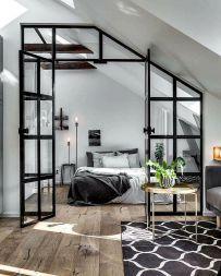 Simple and elegance scandinavian bedroom designs trends (18)