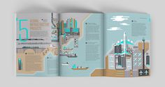 Knight Frank - Global Cities 2016 on Editorial Design Served