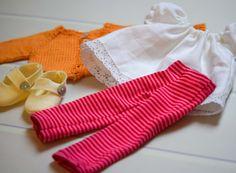 Liberty Fabric Doll Wardrobe by PhoebeandEgg on Etsy