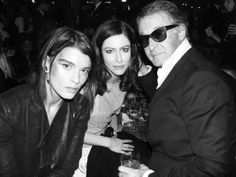 Chanel Dallas photo stéphane Feugère Crystal Renn, Anna Mougalalis, and Eric Pfrunder AFTER PARTY at The Dallas Fair Park, Dallas	 Photo Ste...