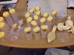 Large Lot Of Breast Milk Bottles/new/