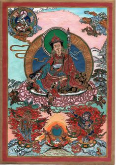 Padmasambhava, 2009. January. A popular deity  of Indo- Tibetan mythology. He offers strong protection and guidance in our lifetime, during our dreams (his mantras, meditations play an important role in dream yoga) and also in the states of Bardo (the interval between death and rebirth), where he removes the obstacles and dangers and guides the soul towards a successful rebirth.