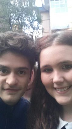 First selfie with my bae josh Zaré from kingsland road ♥