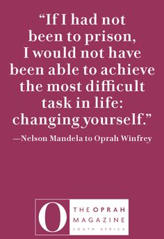 I love this quote because we often feel that the world needs to change when we really have to be the change in order for the world to change. We The People, Good People, Faith Quotes, Life Quotes, Favorite Quotes, Best Quotes, Mandela Quotes, Head Of State, Word Up