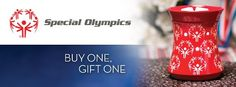 In honor of the Special Olympics World Winter Games, we're doing a special BOGO – Buy One, Gift One!   For every Champion Warmer sold during the week of the Winter games January 29th through February 5th,   Scentsy Fragrance will gift a Champion Warmer to an athlete on Special Olympics Team USA and Team Canada, until every athlete receives one.    https://www.facebook.com/events/129922017176302/#!/events/129922017176302/