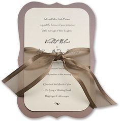 @Samantha Freund go with me here...make the taupe backing burlap and the ribbon lace?