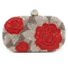 Santi Rose Embellished Clutch